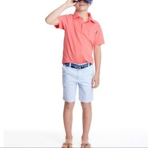 Vineyard vines blue and white seersucker shorts 12